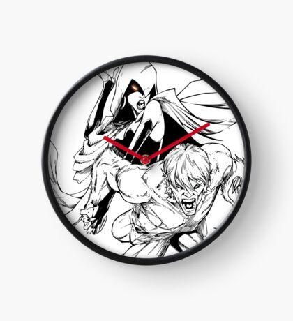 Bbrae Comic Cover B/W Clock