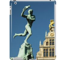 Belgian Architecture/Brawny Man - Travel Photography iPad Case/Skin