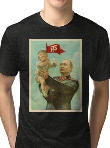 TRUMP Painting Tri-blend T-Shirt