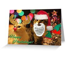 Happy Pawlidays! Greeting Card