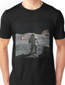 Man on the moon | Space Unisex T-Shirt