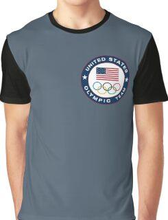 USA Olympic Emblem Graphic T-Shirt
