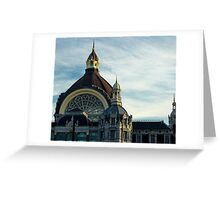 Gare Centrale/ Central Station 3 - Travel Photography Greeting Card