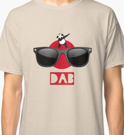 DAB PANDA dab on em dabber dance football touch down red Classic T-Shirt