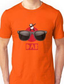 DAB PANDA dab on em dabber dance football touch down red Unisex T-Shirt