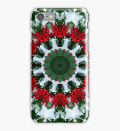 Holly Holiday iPhone Case/Skin