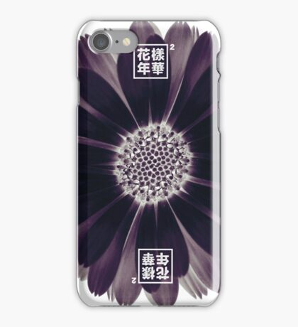 The Most Beautiful Moment In Life_Bangtan_Purple Flower iPhone Case/Skin