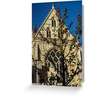 Majestic Cathedral/Hidden by the Tree - Travel Photography  Greeting Card
