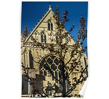 Majestic Cathedral/Hidden by the Tree - Travel Photography  Poster