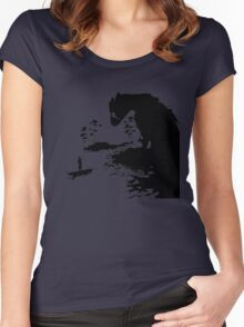 The Last Guardian PS4  Women's Fitted Scoop T-Shirt