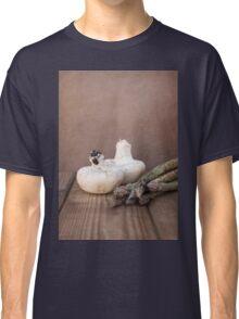 Mushrooms and Asparagus Classic T-Shirt