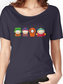 south park illustrations Women's Relaxed Fit T-Shirt