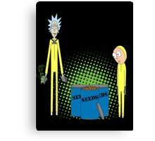 Breaking Morty Canvas Print