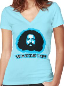 Watts Up! Women's Fitted V-Neck T-Shirt