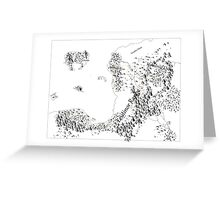 RolePlaying Map Greeting Card