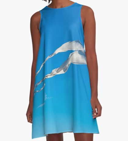 Flying High in the Sky A-Line Dress