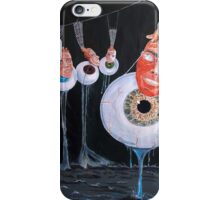 The vision behind the structure, behind the eyes... iPhone Case/Skin