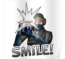 "Cs:go ""smile"" sticker (fan-art) Poster"