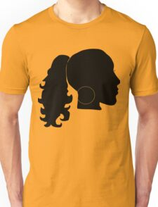 Girl With Hoops Unisex T-Shirt