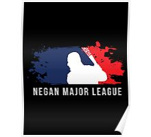 Negan Major League Poster