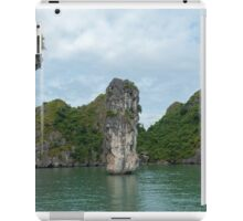 Karst cliffs and islands in Lan Ha Bay. iPad Case/Skin