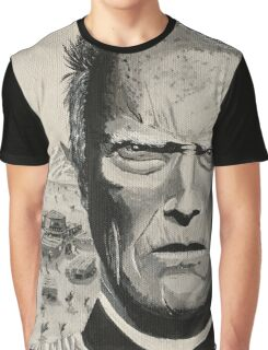 Wild West Clint Eastwood Graphic T-Shirt