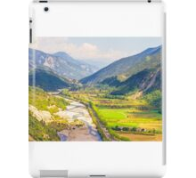 Valley in the South of France iPad Case/Skin