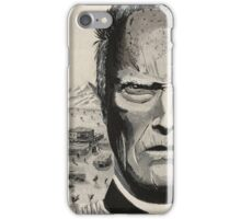 Wild West Clint Eastwood iPhone Case/Skin