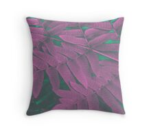 infra leaves Throw Pillow