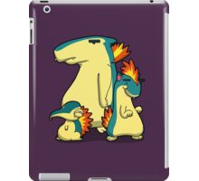 Number 155, 156 and 157 iPad Case/Skin