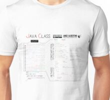 a Java class (compact hello world) Unisex T-Shirt