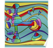 Colorful machine  Poster