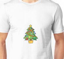 Simple Christmas Tree Unisex T-Shirt
