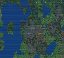 Dwarf Fortress Map Sticker