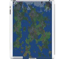 Dwarf Fortress Map iPad Case/Skin