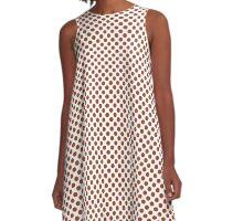 Potter's Clay Polka Dots A-Line Dress