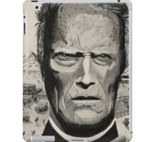 Wild West Clint Eastwood iPad Case/Skin