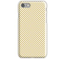 Spicy Mustard Polka Dots iPhone Case/Skin