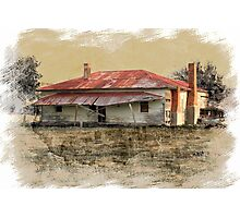 Old country homestead Photographic Print