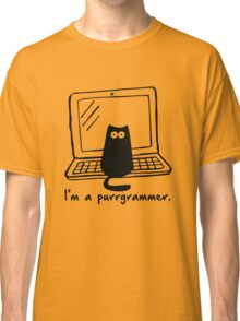 I'm a purrgrammer Classic T-Shirt