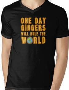 One day gingers will rule the world Mens V-Neck T-Shirt