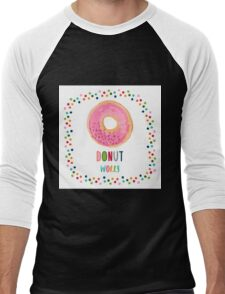 Donut worry  Men's Baseball ¾ T-Shirt