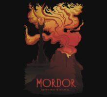 Mordor Travel Kids Clothes