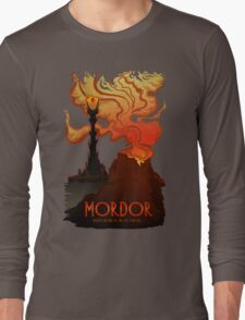 Mordor Travel Long Sleeve T-Shirt