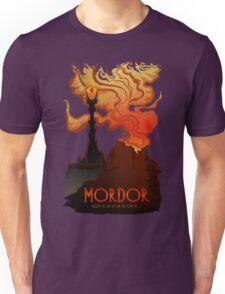 Mordor Travel Unisex T-Shirt