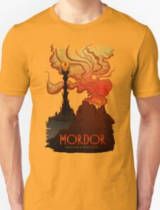 Mordor Travel Unisex T-Shirt