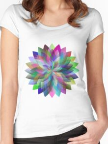 Trippy Design Women's Fitted Scoop T-Shirt