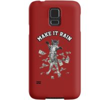 Dollar bills kitten - make it rain money cat Samsung Galaxy Case/Skin