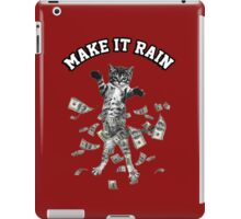 Dollar bills kitten - make it rain money cat iPad Case/Skin