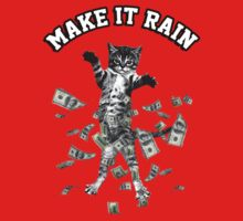 Dollar bills kitten - make it rain money cat by datthomas